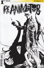 Image: Reanimator #1 (Lee b&w variant incentive cover - 01051) (25-copy) - Dynamite