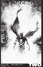 Image: Project Superpowers: Blackcross #2 (Shalvey b&w variant incentive cover - 02061) (25-copy) - Dynamite