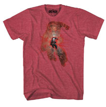 Image: Ant-Man T-Shirt: Ant Within [Red Heather]  (XXL) -