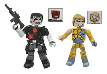 Image: Valiant Minimates 2-Pack: Battle-Damaged X-O Manowar/Bloodshot  -