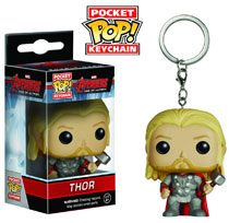 Image: Avengers: Age of Ultron Pocket POP! Vinyl Figure Keychain - Thor  -
