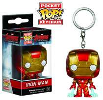 Image: Avengers: Age of Ultron Pocket POP! Vinyl Figure Keychain - Iron Man  -