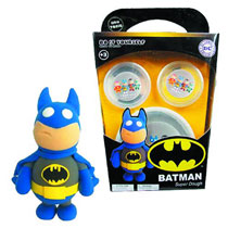 Image: DC Super Dough DiY Modeling Set: Batman  -