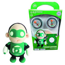Image: DC Super Dough DiY Modeling Set: Green Lantern  -