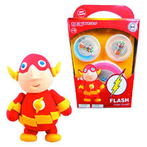 Image: DC Super Dough DiY Modeling Set: Flash  -