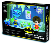 Image: DC Super Dough DiY Modeling Set: Batman Batcave  -