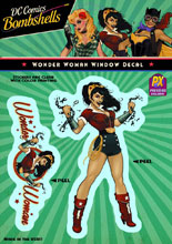 Image: DC Bombshells Vinyl Decal: Wonder Woman  -
