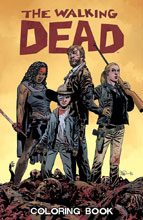 Image: Walking Dead Coloring Book SC  - Image Comics