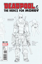 Image: Deadpool & the Mercs for Money #3 (variant cover - Hawthorne)  [2016] - Marvel Comics