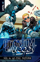 Image: Quantum and Woody by Priest & Bright Vol. 4: Q2 - The Return SC  - Valiant Entertainment LLC