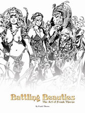 Image: Frank Thorne's Battling Beauties HC  - Hermes Press