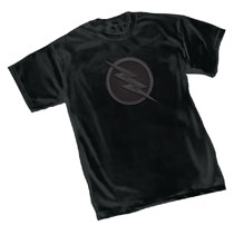 Image: Flash T-Shirt: Zoom TV Symbol  (S) - Graphitti Designs