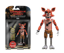 Image: Five Nights at Freddy's Action Figure: Foxy  - Funko