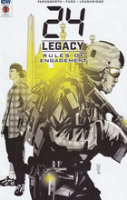 Image: 24: Legacy - Rules of Engagement #1 (incentive cover - Antonio Fuso) (10-copy) - IDW Publishing