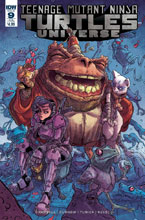 Image: Teenage Mutant Ninja Turtles Universe #9 (subscription cover - Pablo Tunica)  [2017] - IDW Publishing
