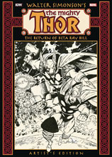 Image: Walter Simonson's Thor: The Return of Beta Ray Bill Artist's Edition HC  - IDW Publishing