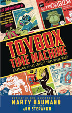 Image: Toybox Time Machine: A Catalog of the Coolest Toys Never Made HC  - IDW Publishing