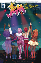 Image: Jem and the Holograms #26  [2017] - IDW Publishing