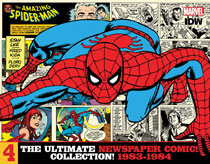 Image: Amazing Spider-Man: The Ultimate Newspaper Comics Collection Volume 4  (1983-1984) HC - IDW Publishing
