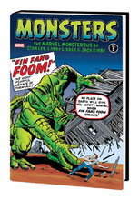 Image: Monsters Vol. 02: Marvel Monsterbus by Stan Lee, Larry Lieber & Jack Kirby HC  - Marvel Comics