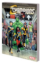 Image: Champions Vol. 01: Change the World SC  - Marvel Comics