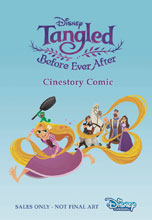 Image: Disney Tangled: Before Ever After Cinestory Comic SC  - Joe Books Inc.