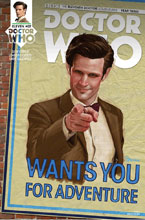 Image: Doctor Who: The 11th Doctor - Year Three #7 (cover A - Myers) - Titan Comics