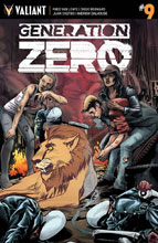 Image: Generation Zero #9 (cover C incentive - Mooney) (20-copy)  [2017] - Valiant Entertainment LLC
