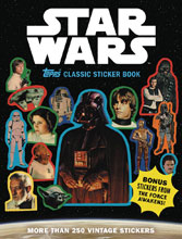 Image: Star Wars Classic Sticker Book SC  - Abrams Comicarts