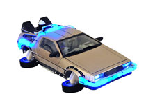Image: Back to the Future 2 Electronic Vehicle: Hover Time Machine  - Diamond Select Toys LLC