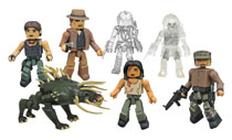 Image: Predator Minimates Series 4 Assortment  - Diamond Select Toys LLC