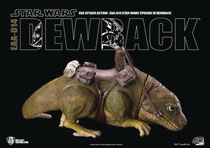 Image: Star Wars: A New Hope Action Figure - EAA-014 Dewback  - Beast Kingdom