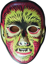 Image: Ghoulsville Vac-Tastic Plastic Mask: Electric Wolfman  - Retro-A-Go-Go! LLC