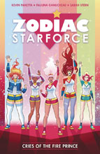Image: Zodiac Starforce Vol. 02: Cries of the Fire Prince SC  - Dark Horse Comics