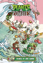 Image: Plants vs. Zombies: Rumble at Lake Gumbo HC  - Dark Horse Comics
