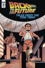 Image: Back to the Future: Time Train #5 (cover A - Levens) - IDW Publishing
