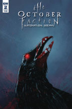 Image: October Faction Supernatural Dreams #2 (cover B - Worm) - IDW Publishing