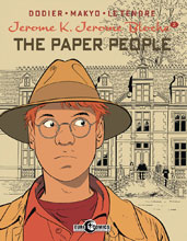 Image: Jerome K. Jerome Bloche Vol. 02: Paper People HC  - IDW Publishing