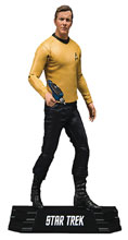Image: Star Trek Action Figure: James Kirk Case  (7-inch) - Tmp Toys / Mcfarlane's Toys