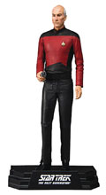 Image: Star Trek Action Figure: Jean-Luc Picard Case  (7-inch) - Tmp Toys / Mcfarlane's Toys