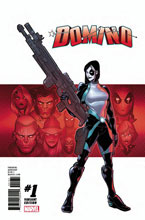 Image: Domino #1 (variant cover - Baldeon) - Marvel Comics
