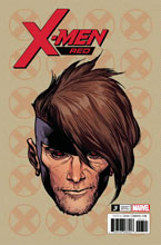 Image: X-Men Red #3 (Legacy) (variant Headshot cover - Charest) - Marvel Comics