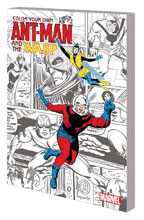 Image: Color Your Own - Ant-Man and Wasp SC  - Marvel Comics