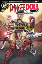Image: Danger Doll Squad: Galactic Gladiators #1 (cover D - Costa Risque) - Action Lab - Danger Zone