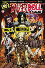 Image: Danger Doll Squad: Galactic Gladiators #1 (cover F - McKay Risque) - Action Lab - Danger Zone