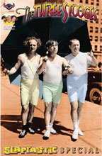 Image: Three Stooges: Slaptastic Special #1 (variant cover - Special Color Photo) - American Mythology Productions