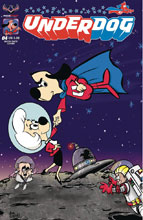 Image: Underdog #4 (variant Moon Shot cover - Jenni Greggory) - American Mythology Productions