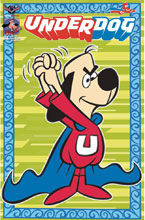 Image: Underdog #4 (variant Retro Animation Limited ed. cover) - American Mythology Productions