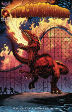Image: Volcanosaurus #2 (variant V-Rex Homage cover - Rich Bonk) - American Mythology Productions