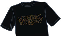 Image: Original Trilogy T-Shirt  (L) - Antarctic Press